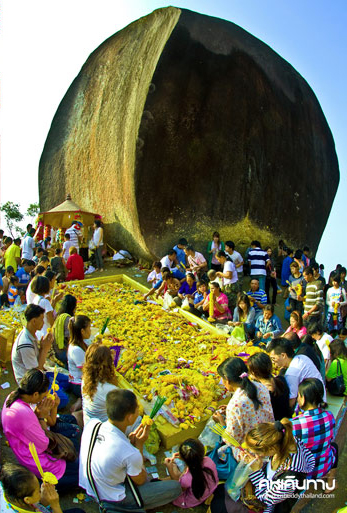 เขาคิชฌกูฏ สถานที่เที่ยวชมและกราบไหว้ตำนานรอยพระพุทธบาทที่สูงที่สุดในประเทศไทย