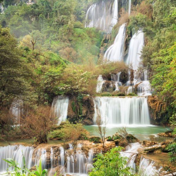 มาชื่นชม น้ำตกทีลอซู ที่เที่ยวพักผ่อนกับธรรมชาติอย่างแท้จริง