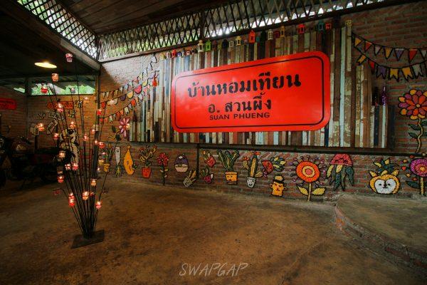 บ้านเทียนหอม ในจังหวัดราชบุรี ที่เที่ยวสำหรับคนรักความหอม