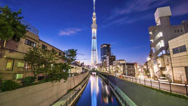 โตเกียวสกายทรี หอชมวิวอันดับหนึ่งในเมืองใหญ่สถานที่ชมเมืองยอดนิยม
