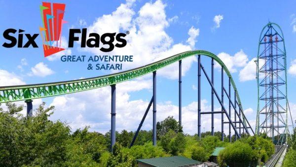 Six Flags Great Adventure สวนสนุกตามธีมผจญภัยในนิวเจอร์ซีย์