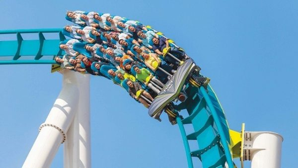 Carowinds สวนสนุกที่เชื่อมสองรัฐของคาโรไลน่าและเซาธ์คาโรไลน่า