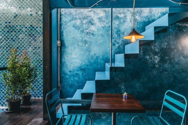 คาเฟ่โทนสีฟ้า ถ่ายรูปออกมาสวยใครที่ชอบสีฟ้าห้ามพลาดเด็ดขาด